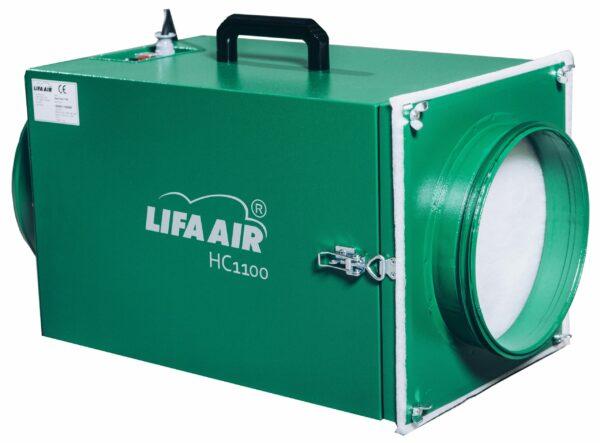 lightweight negative air machine