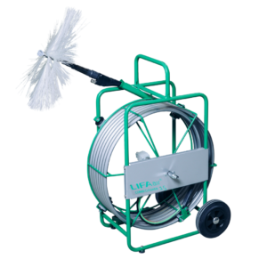 small pneumatic rotary brush