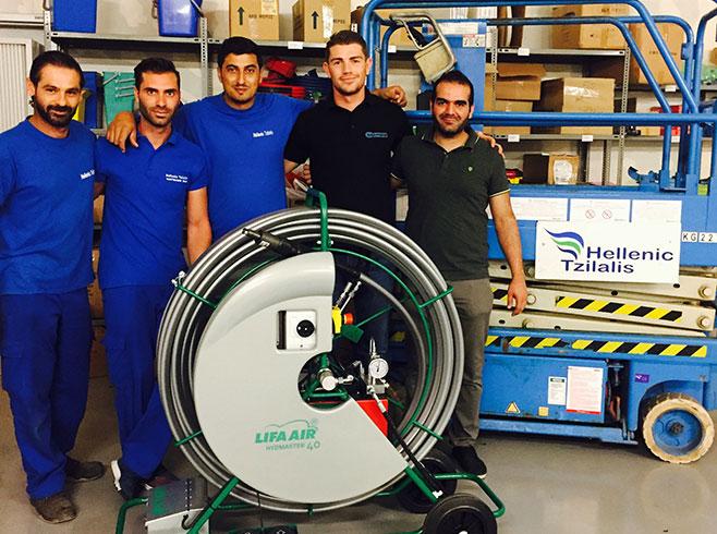 ventilation cleaning training team