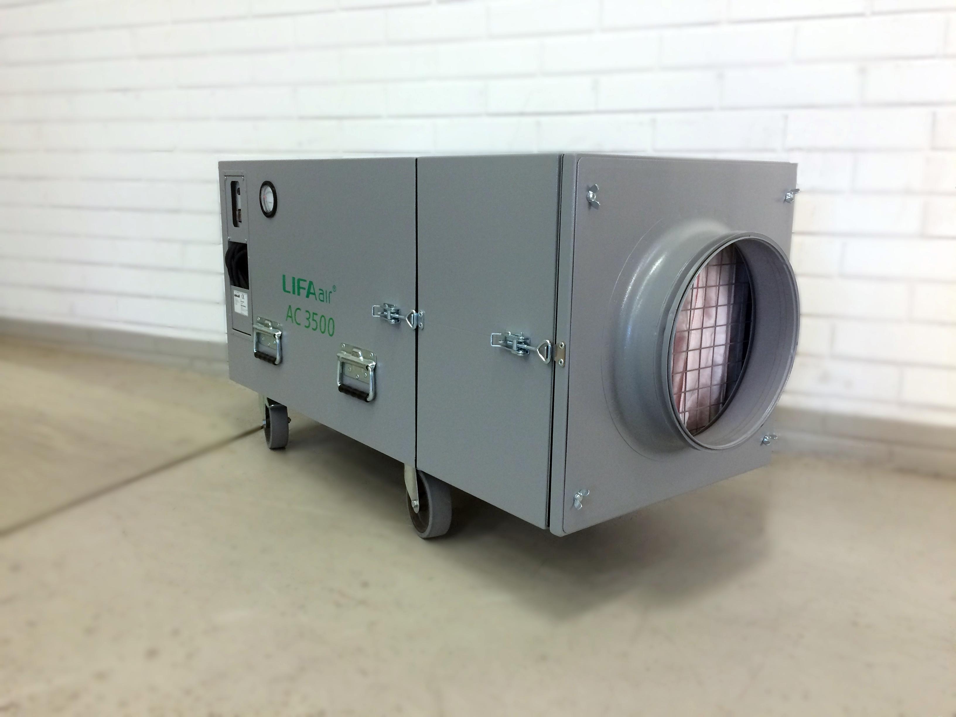Air Clean 3500 Professional Negative Air Machine