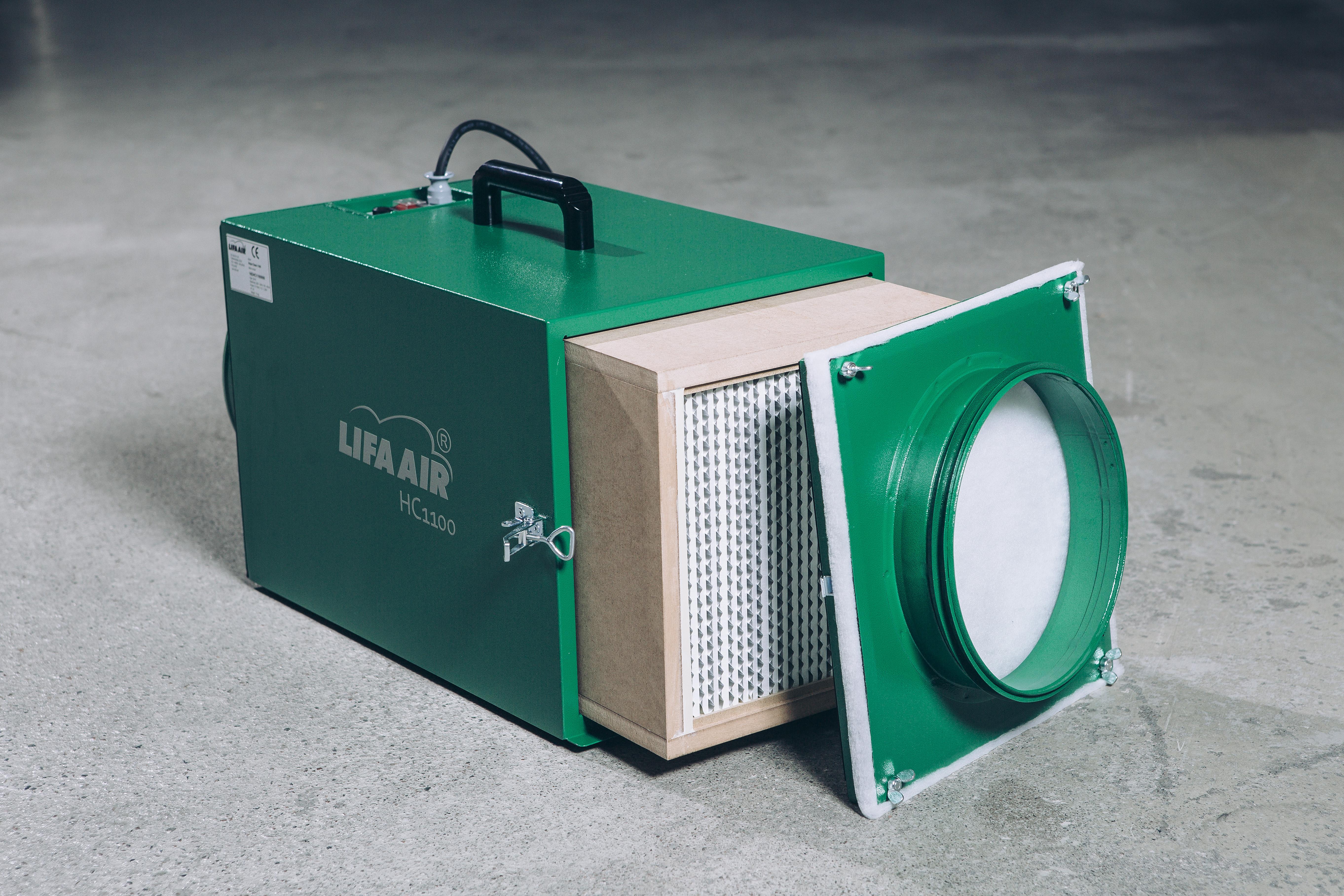 HC1100 lightweight negative air machine