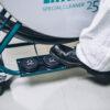 foot pedal rotary brush machine