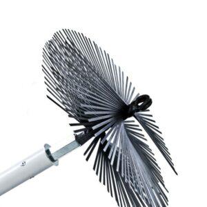 metal razor brush