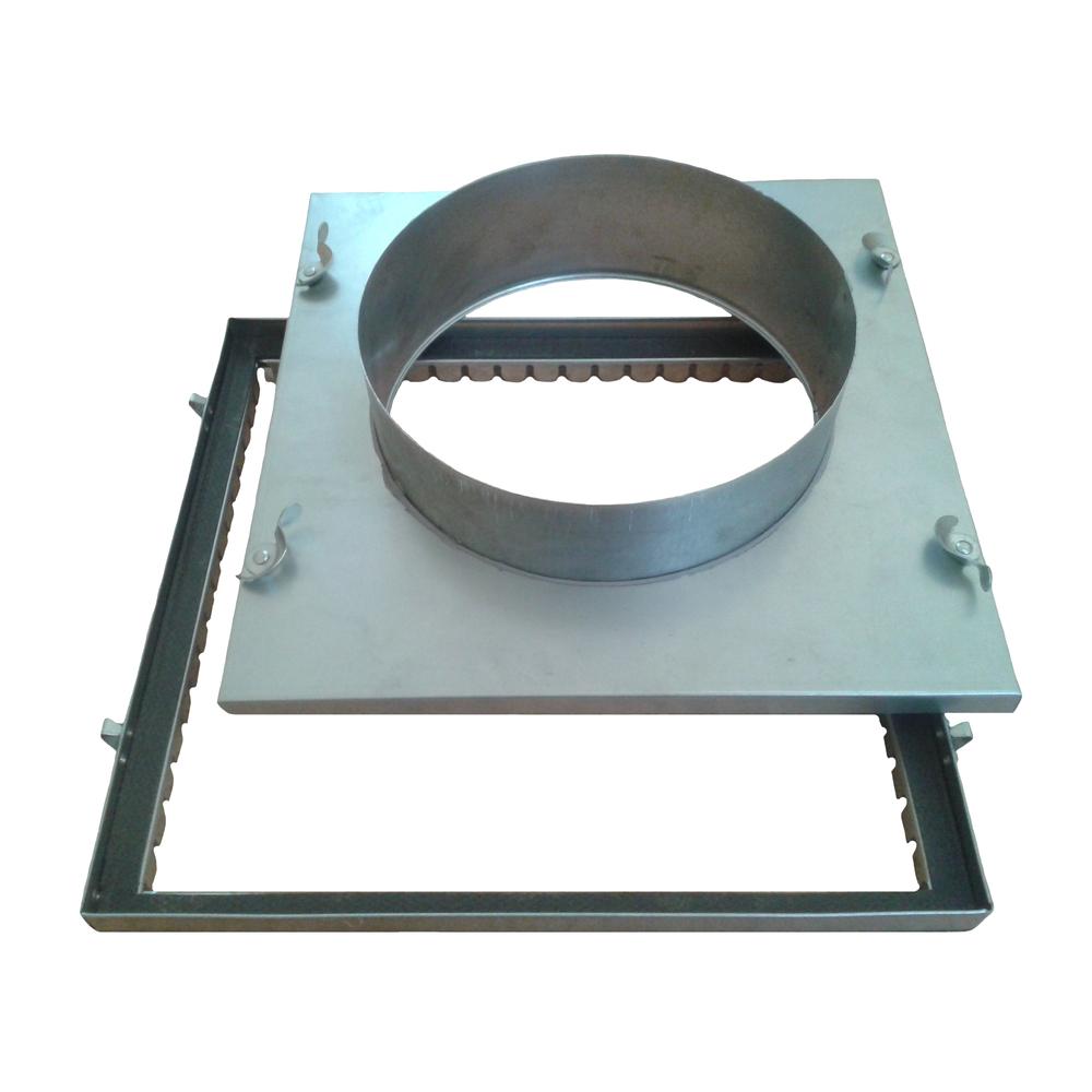 Access Panel Duct Hose Connection Hasman Ltd