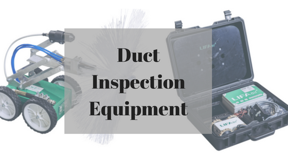 ductwork inspection equipment range