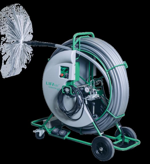 rotary brush machine